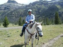 Chris riding