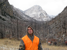 Jesse on the goat hunt