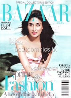 Kareena Kapoor bazaar magazine