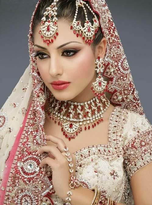 Indian Bridal Makeup And Jewellery Design Neeshucom