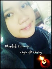 wardah top - up raya giveaway....
