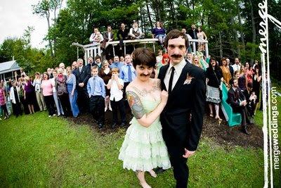 смешное свадебное фото