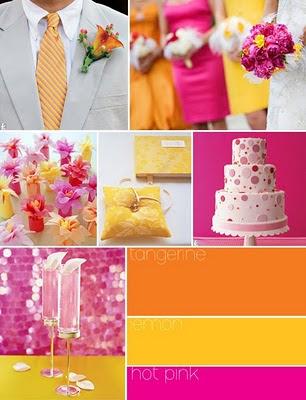 цветовое решение свадьбы