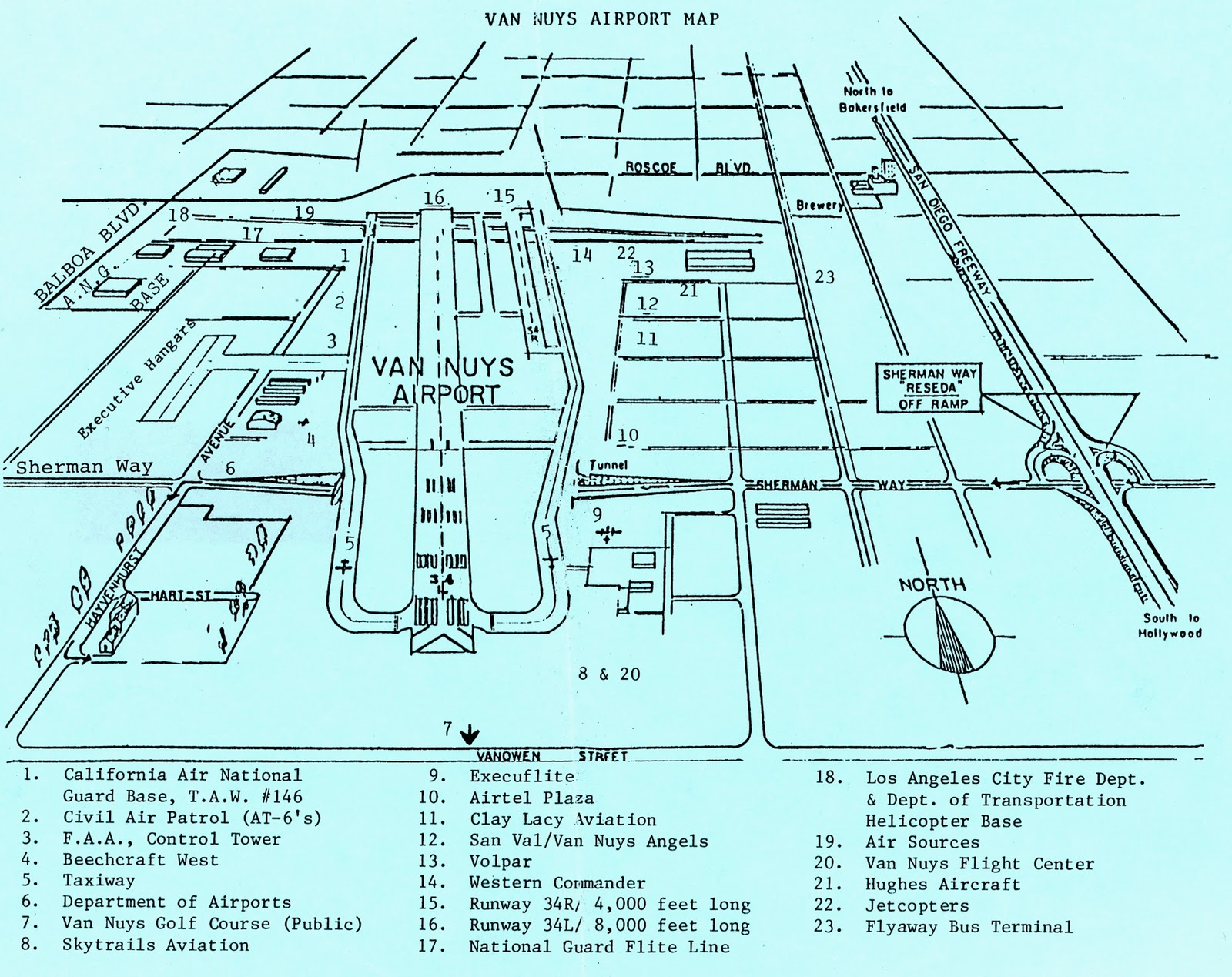 Vny airport diagram the best airport of 2018 van nuys airport vny on twitter pic advisory 16r pooptronica Image collections