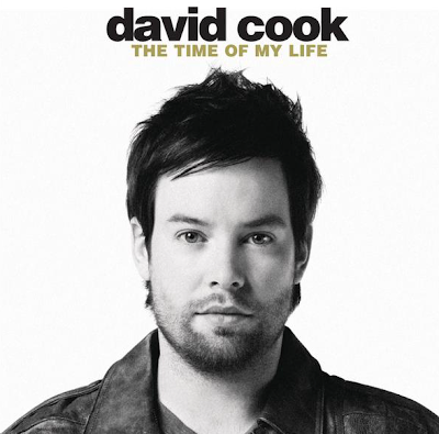 david cook album cover light on. David Cook- Time of my life