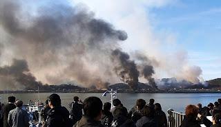 North Korea shelled Yeonpyeong Island@peterpeng210.blogspot.com