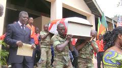 GOOD BYE TO JOHN SMITH IN OUIDAH BENIN