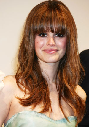 hairstyles with bangs and layers for long hair. Keep top layers soft and long. Long hair? Go for long layers that graze your