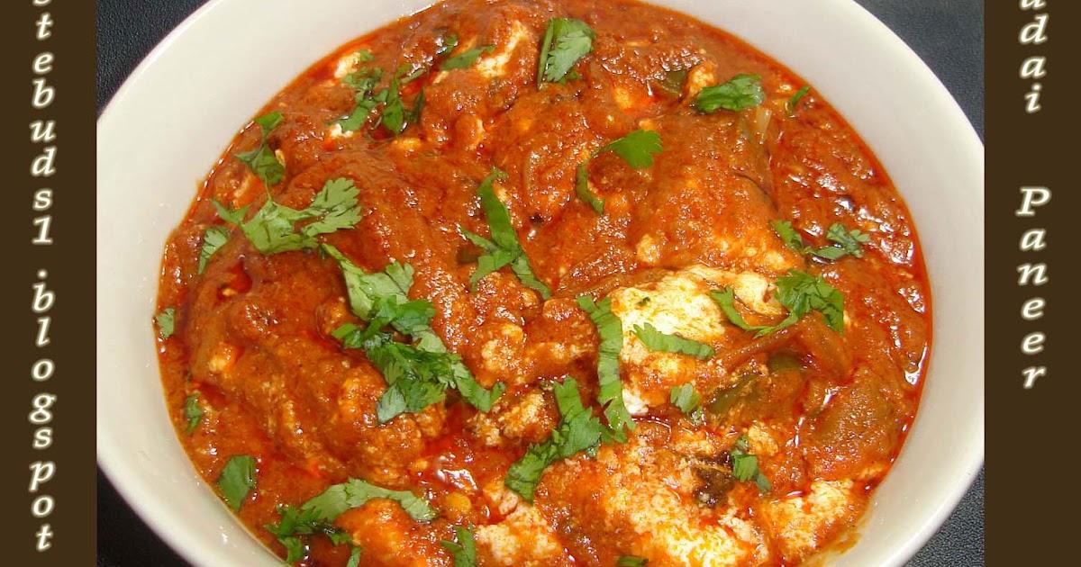Taste Buds: Kadai Paneer