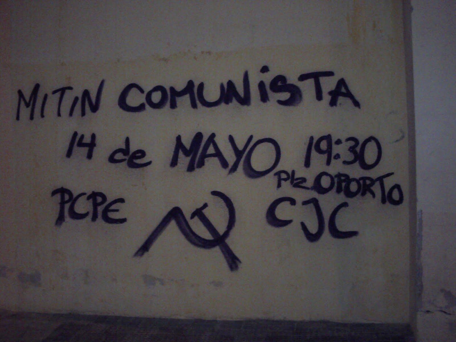 Mitin Comunista en Carabanchel PICT0008