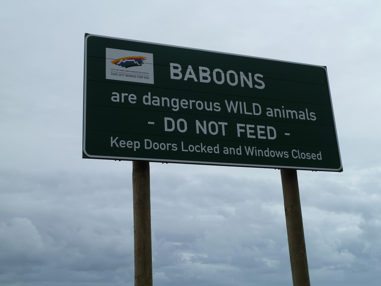 South africa july to october 2010 baboon warnings the for Table 52 gaborone