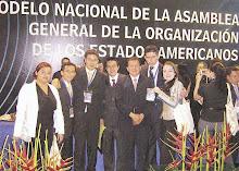 Triunfo de Estuduantes Colombianos ante el Modelo de la OEA