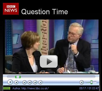 David Dimbleby threatens Jacqui Smith in a piece of typical BBC bullying