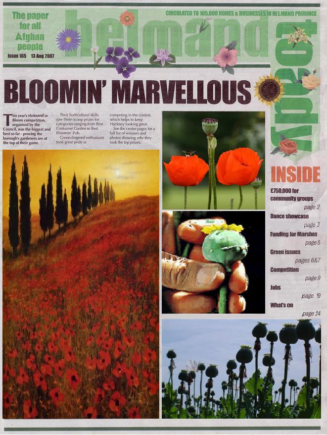 Bloomin' bootiful