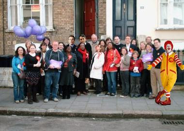The Hackney Labour Party luncheon club