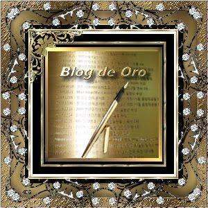 PREMIO BLOG DE ORO 01/09/2010
