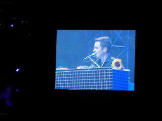 Oh Brandon Flowers, you shaved your facial hair for us. How conscientious.