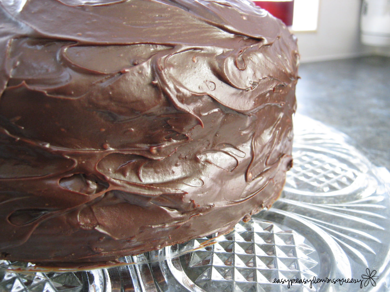 Chocolate Cake Frosting Without Powdered Sugar Four Layers