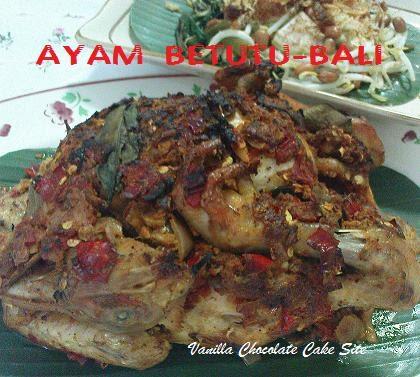 Resep Ayam Betutu Ncc