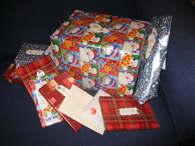 Lots of wrapped presents