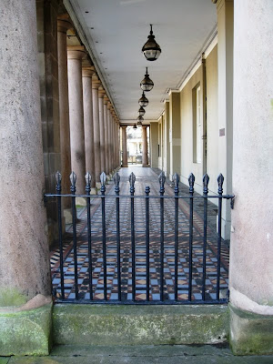 Colonnade outside the Pump Rooms, Leamington