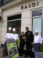 Staff outside Rasoi