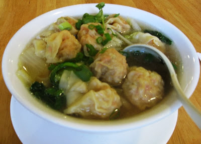 Wonton dumpling soupl noodle