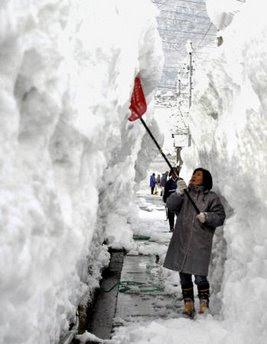 Shoveling snow is better than shoveling $@$#