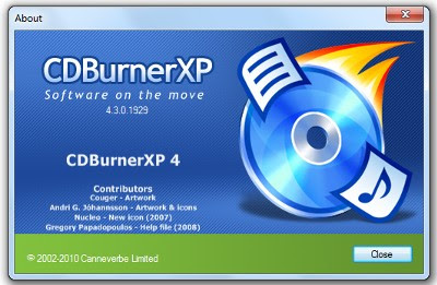 CD Burner XP Free CD Burning