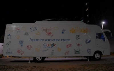 Google Internet Bus