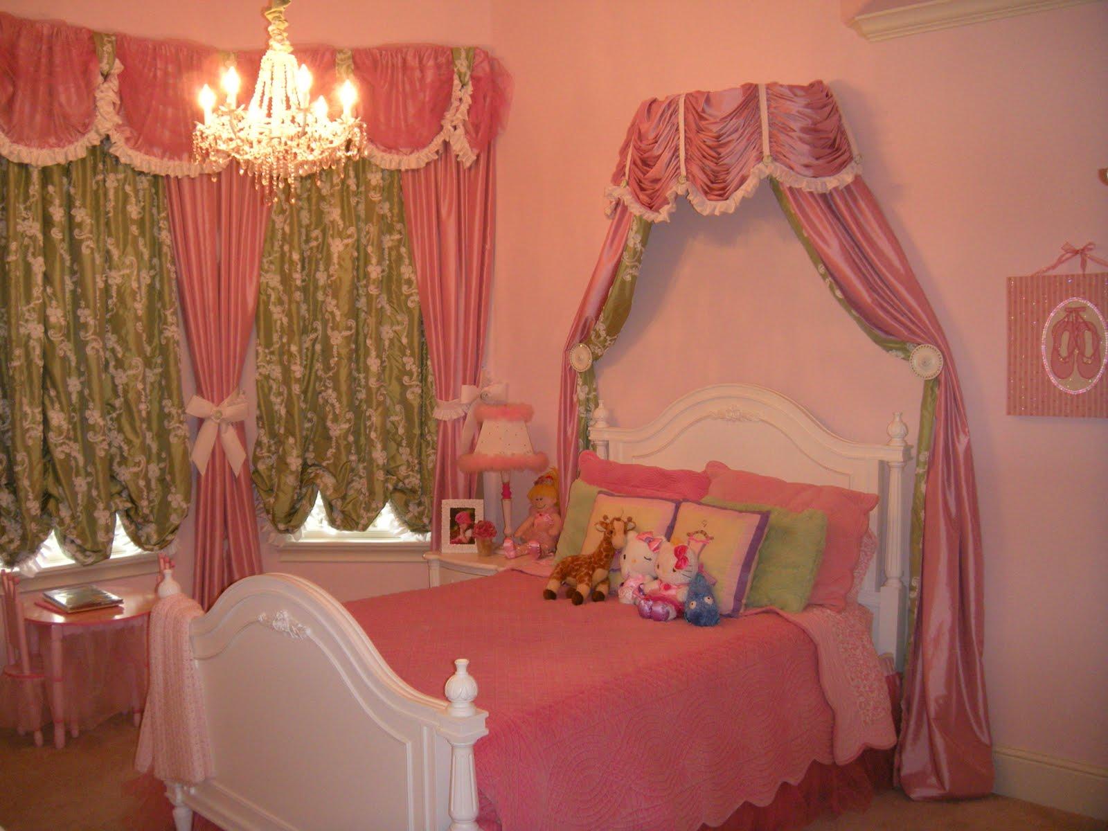 Дизайн комнаты для принцессы