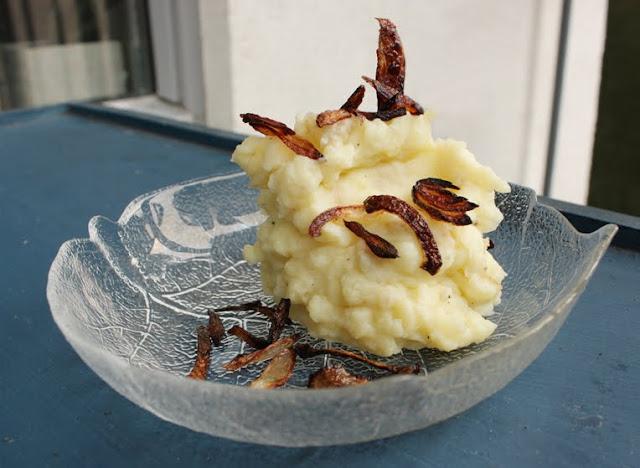 Oppskrift Potetstappe Potetmos Hjemmelaget Mashed Potatoes
