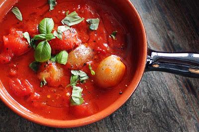 Oppskrift Hjemmelaget Tomatsaus Vegan Tapas Vegetartapas Meny Sjalottløk