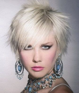 hairstyles with short bangs 2010
