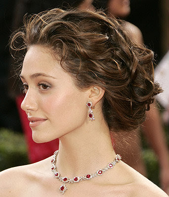 Give your classic updo new life by playing with textures.