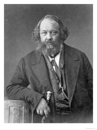 Mikhail Aleksandrovitch Bakunin (30/05/1814 - 01/07/1876)