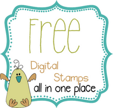 Free Digital Stamps blog