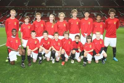 Foto Hanif Sjahbandi MU Junior Players