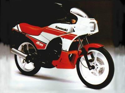 Binter Kawasaki AR 125 CC 1983