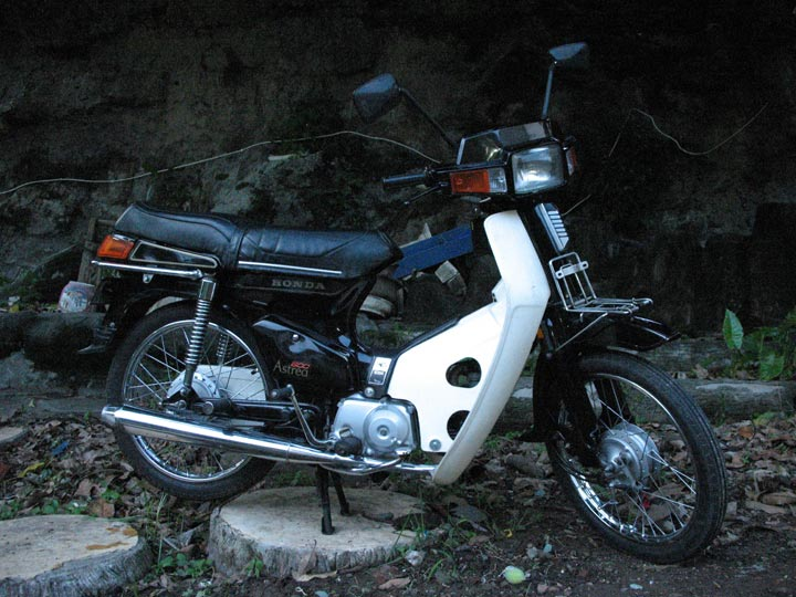 Foto Motor Honda Astrea 800 1985 title=