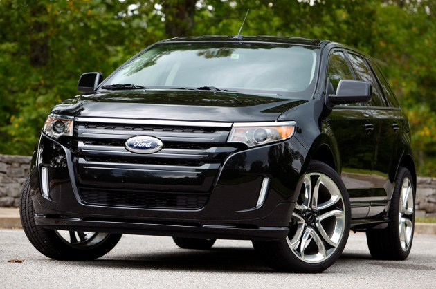 Black 2011 Ford Edge Sport Photos. 2011 Ford Edge Sport Interior Dash Photos