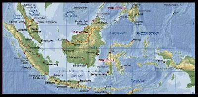 Gambar peta indonesia di dunia