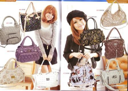 Model Tas Kantor dari Pameran Fesyen Tas Gambar Tas L