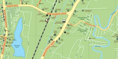 Koleksi Peta Kota Depok - Gambar Ukuran Besar