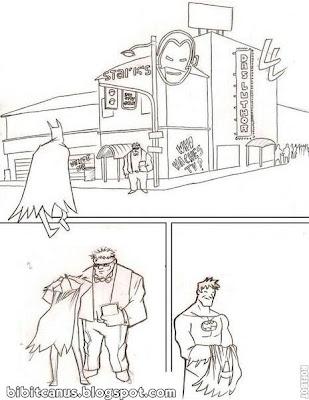 paródia de história em quadrinhos