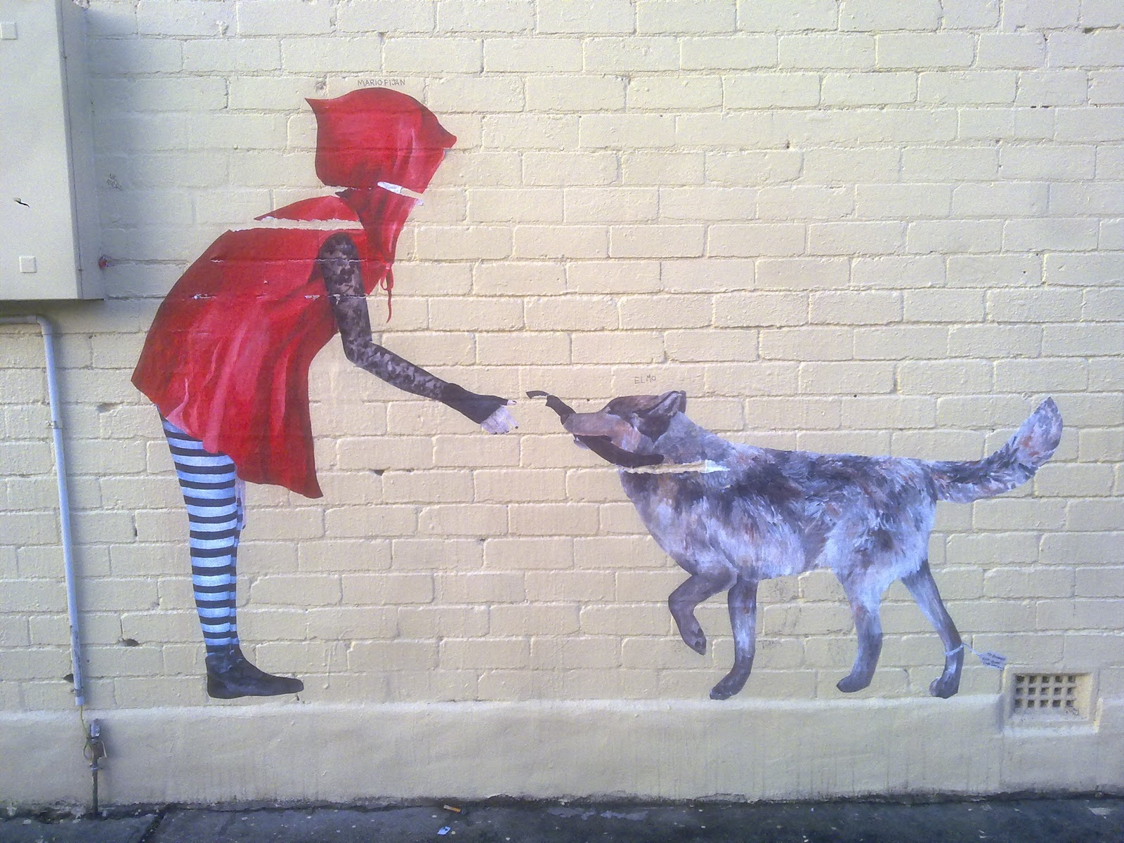 Cake Street Artist : land of sunshine: urban cake lady. Melbourne 2010