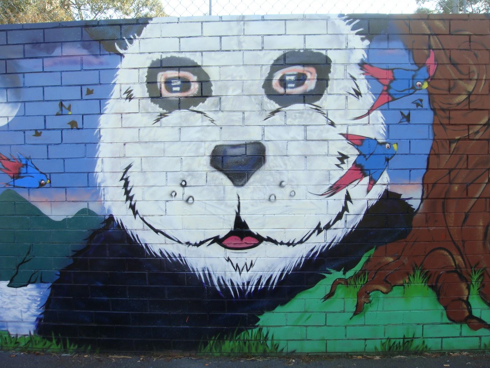 Graffiti art animals - Tags Deansunshine Graffiti Landofsunshine Melbourne