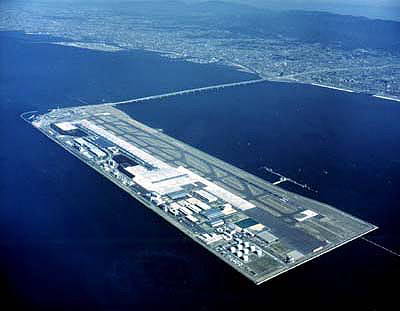 kansai international airport kia osaka was the first airport in japan