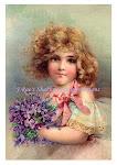 Vintage Frances Brundage Print