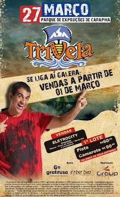 054f27ee7e No dia 27 de Março a Group Entretenimento traz a Vitória a tradicional  Trivela com o Asa de Águia e mais uma banda convidada.